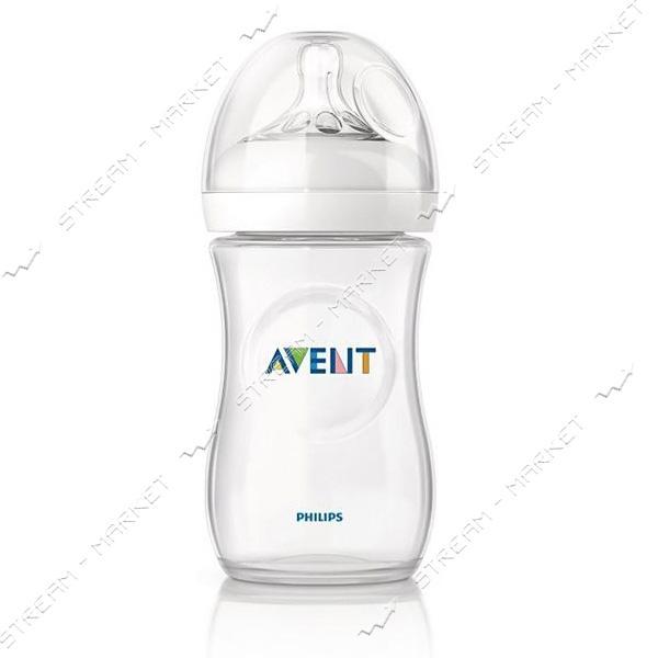 Бутылочка для кормления Avent Natural 260мл SCF693/17