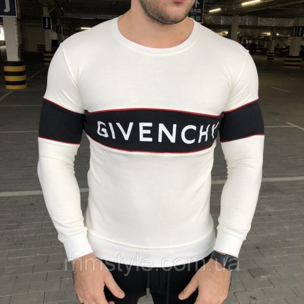 Sweatshirt Givenchy Round Logo White