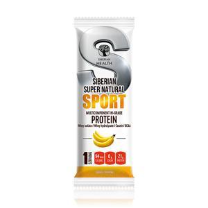 Мультикомпонентный протеин премиум-класса Банан — Siberian Super Natural Sport