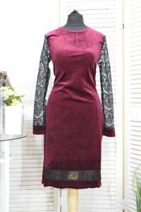 Фото Одежда Турция Шикарное платье бархат