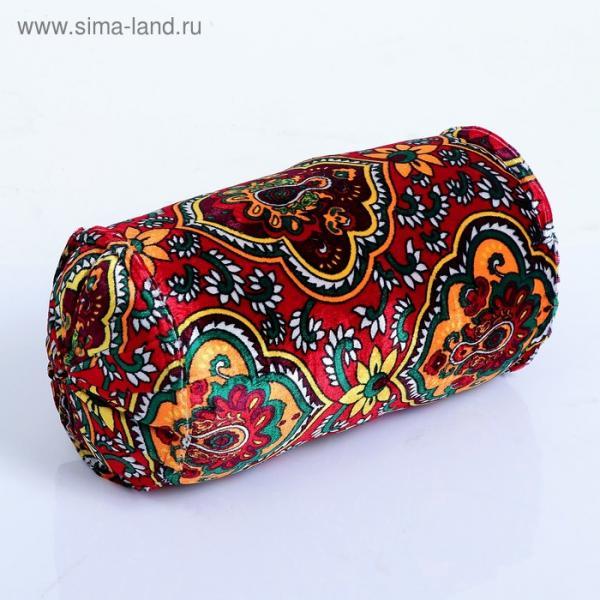 Подушка-валик узбекская разноцветная 25*53 см