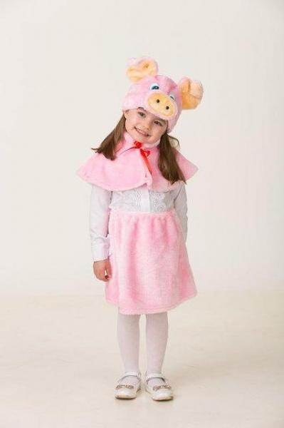 Карнавальный костюм Свинка Бася детский