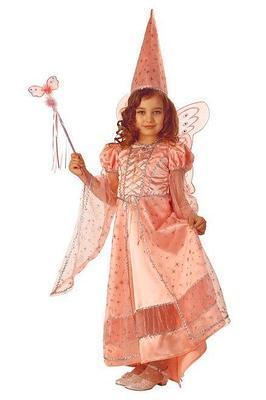 Карнавальный костюм Фея сказочная розовая детский