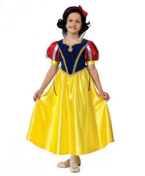 Карнавальный костюм Принцесса Белоснежка детский