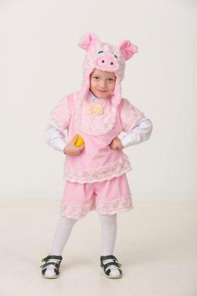 Карнавальный костюм Поросенок Рюрик детский