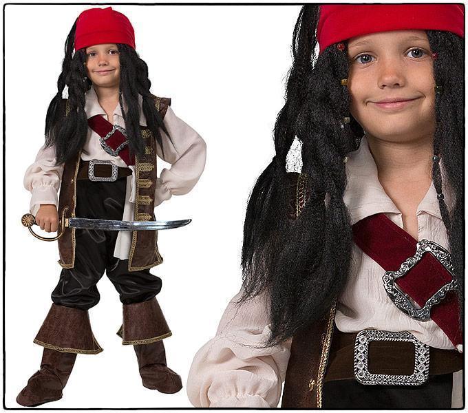 Карнавальный костюм Капитан Джек Воробей детский
