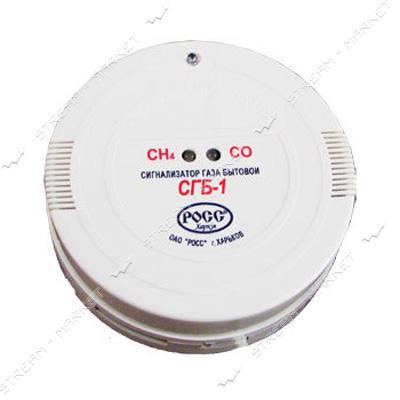Сигнализатор газа РОСС бытовой СГБ-1-7Б (метан - 1% (20% НКПР), окись углерода - 0, 005%)