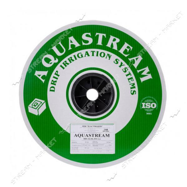 Akvastream Капельная лента 6mil-0.15мм (20см) (1, 3л/ч) 500м