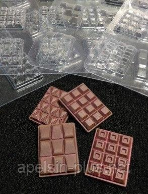 Фото  Молд пластиковый для шоколада