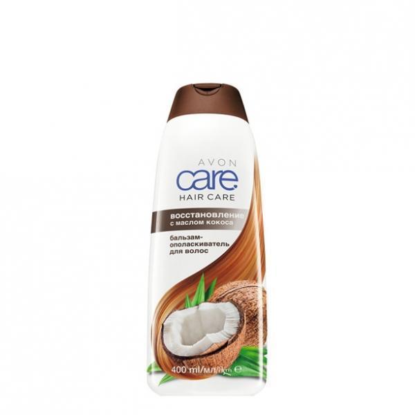 Бальзам-ополаскиватель для волос с маслом кокоса «Восстановление» (400 мл)