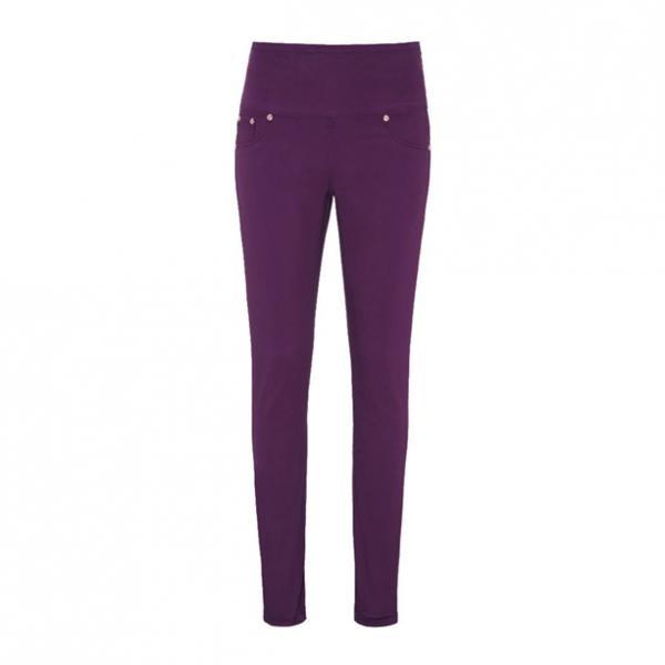 Женские брюки (джегінси). Фиолетовые