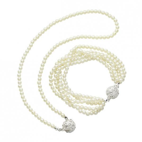 Набор украшений «Ясмина»: ожерелье, браслет