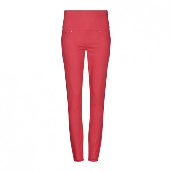Женские брюки (джегінси). Красные