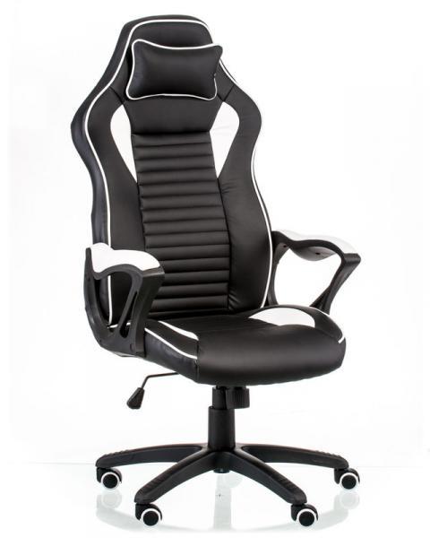Кресло геймерское Nеro black/white Special4You