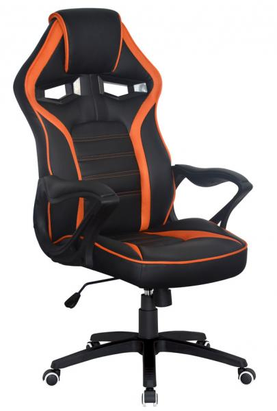 Кресло Game black/orange Special4You