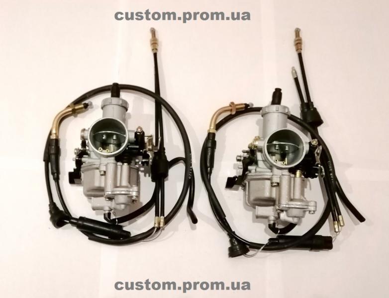 Комплект карбюраторов PZ 30 c ускорителем для установки на Днепр, Урал, К-750