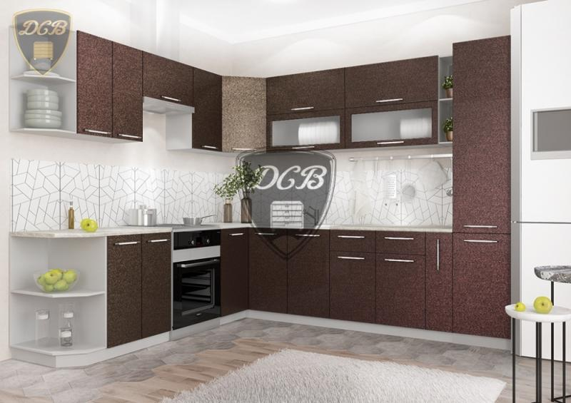 Фото  ДСВ мебель-Кухня ОЛИВА - ХАМЕЛЕОН Модульная