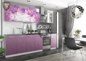 Фото  Кухня ОРХИДЕЯ Фотопечать 2,0м(ДСВ мебель)