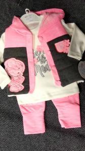 Фото Костюмы, комбинезоны, человечки малышам (0-2года) Костюм девочке 3-ка, рост 6 мес