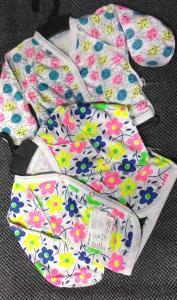 Фото Бодики, ползуны, кофты и штанишки (0-2 года) Распашонки-нецарапки 56р новорожденный