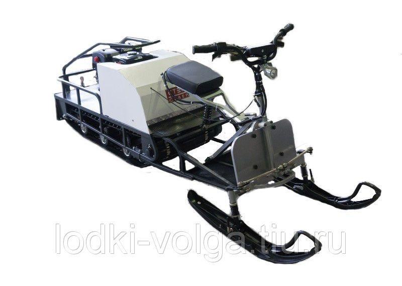 Мотобуксировщик Стем Север Эксперт 500, 15 л/с эл/зап (с АКБ) с лыжным модулем