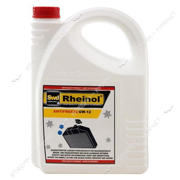 Антифриз Rheinol GW12 -40 5л красній