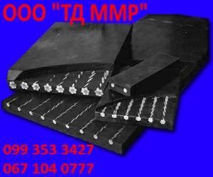 Лента резинотросовая транспортерная конвейерная, резинотканевая лента, брекерная ткань, Резинотросовая лента