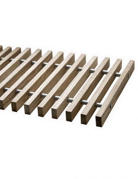 Решетка дубовая для конвекторов Polvax KV.135.1000.245
