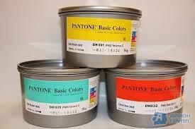 Офсетная краска пантон Yellow012