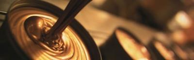 Метализированная краска пантон  Metalstar 07 2876 Gold