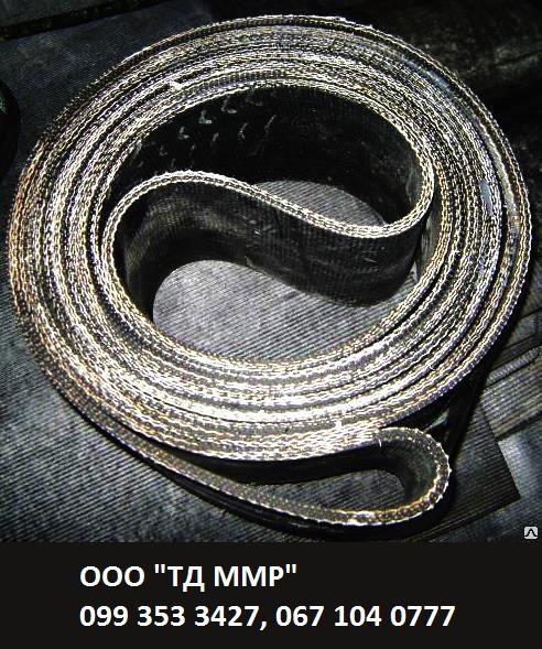 Ремень бесконечный на основе БКНЛ-65 без обкладки, приводной резинотканевый ГОСТ 23831-79