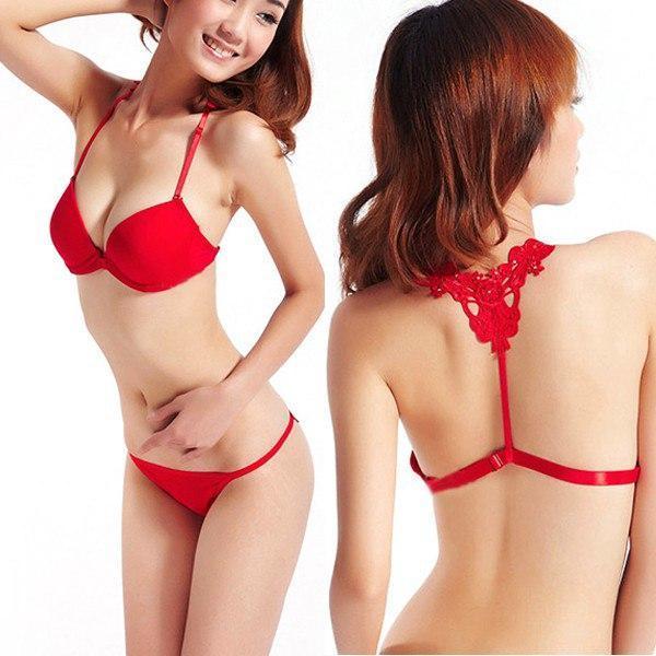 Фото Комплекты женского нижнего белья, С эффектом push-up Комплект женского нижнего белья с застежкой спереди