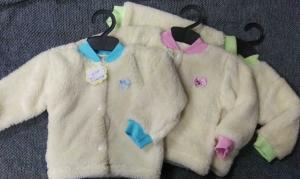 Фото Бодики, ползуны, кофты и штанишки (0-2 года) Кофточки махровые