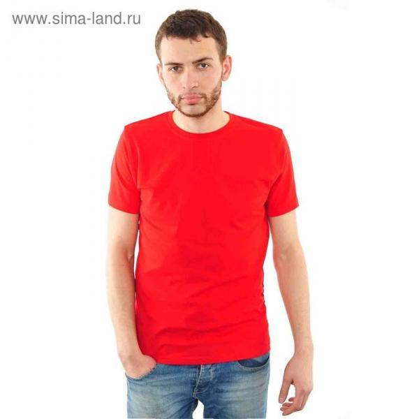 Футболка мужская арт.FM0110101011 цвет красный, р-р 48-50 (L)