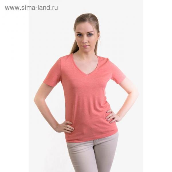 Джемпер (футболка) женский MK2573/03 цвет персиковый, р-р 46, рост 158-164