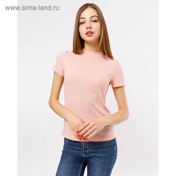 Джемпер женский 2834-1 (112452) цвет нежный розовый, р-р 42 (XS)