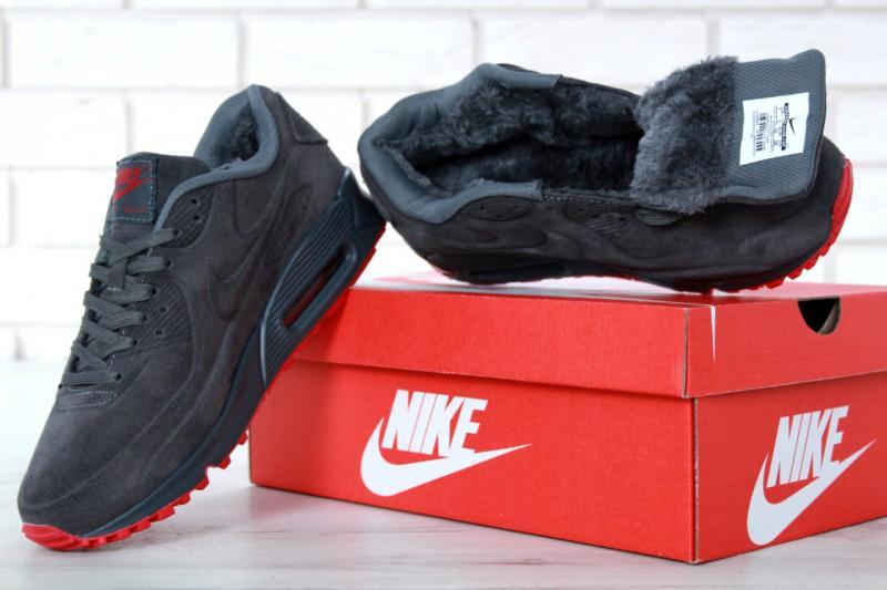 Фото  Nike Air Max 90 Winter Gray (40-46)