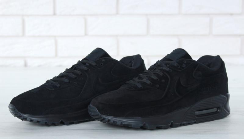 Фото  Nike Air Max 90 Winter Black (40-46)