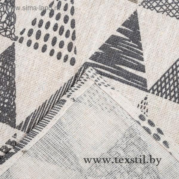 Фото Текстиль, Текстиль для кухни, Скатерти Скатерть Доляна 145х145см, Треугольники, 100%пэ, рогожка 200 гр/м