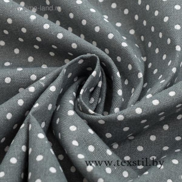 Фото Текстиль, Текстиль для кухни, Скатерти Скатерть Доляна 145х145см, Горох сер, 100%пэ, рогожка 200 гр/м