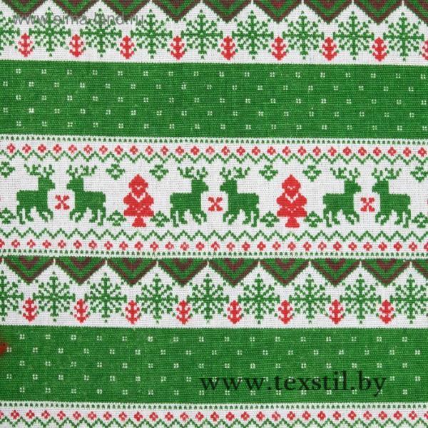 Фото Текстиль, Текстиль для кухни, Скатерти Скатерть Доляна 145х145см, Скандинавия зел, 100%пэ, рогожка 200 гр/м