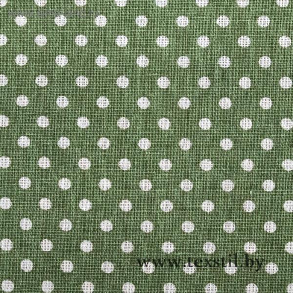 Фото Текстиль, Текстиль для кухни, Скатерти Скатерть Доляна 145х145см, Горох зел, 100%пэ, рогожка 200 гр/м