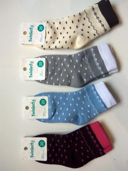 Шкарпетки махра Горох