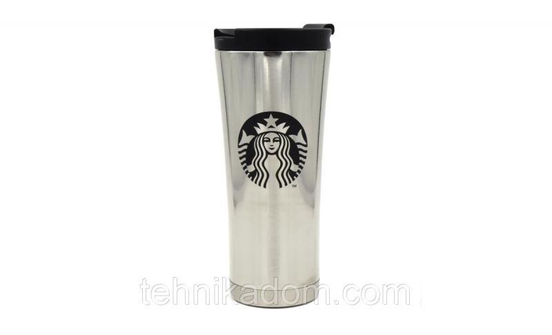 Термокружка Starbucks 500 мл Серебристая (SUN0054)