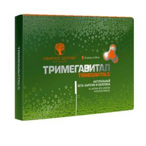 Натуральный Бета-каротин и облепиха - Тримегавитал