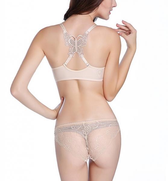 Фото С эффектом push-up, Комплекты женского нижнего белья Комплект женского нижнего белья с застежкой спереди