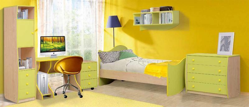 Фото Детская мебель, Наборы мебели Набор детской мебели Юниор-11.1 (Матрица)