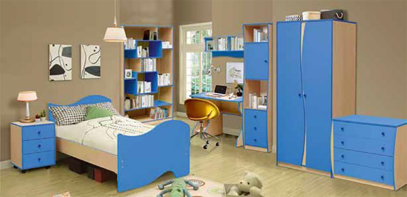 Фото Детская мебель, Наборы мебели для детей и подростков Набор детской мебели Юниор-11.2 (Матрица)