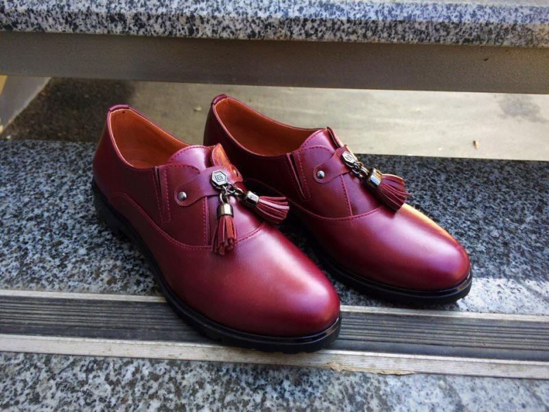 Туфли Classic c кисточками. Украина