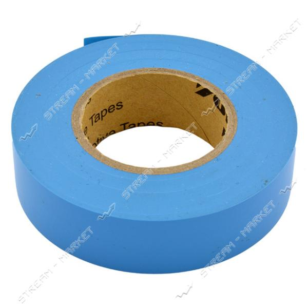 Изолента ПВХ Vongle 19х0.13мм 30 м голубая